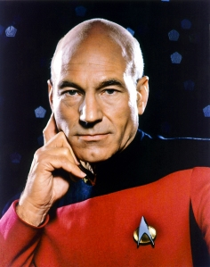 Portrait picture of Jan Luc Picard from Star Trek Next Generation